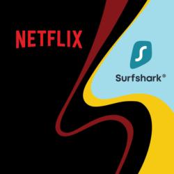 Netflix with Surfshark