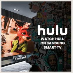 Hulu Samsung Smart TV