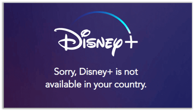 Disney Plus Not Working in Your Region