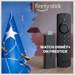 watch disney plus on firestick