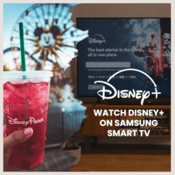 watch disney plus on samsung smart tv